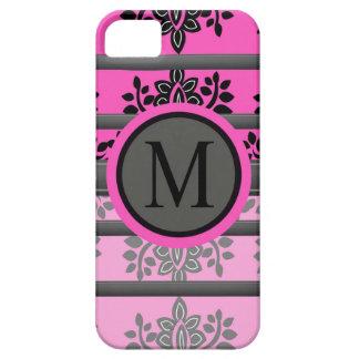 Monogramm-Entwürfe Etui Fürs iPhone 5