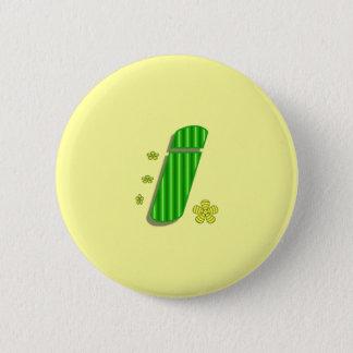 Monogramm I Runder Button 5,7 Cm