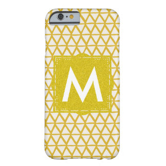 Monogramm Iphone Fall personalisiert mit Namen Barely There iPhone 6 Hülle