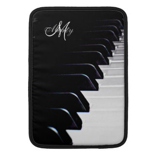 Monogramm-Klavier-Tastatur-Musik Macbook Hülse MacBook Air Sleeve