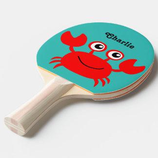 Monogramm-Klingeln pong Paddel der Seegeschöpfe Tischtennis Schläger