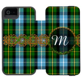 Monogramm MacNeil Tartan Incipio Watson™ iPhone 5 Geldbörsen Hülle