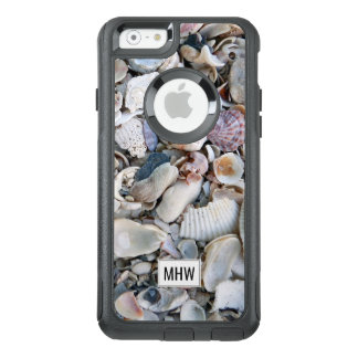 Monogramm-Telefon-Hüllen der Muscheln OtterBox iPhone 6/6s Hülle