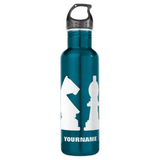 Monogramm-Wasserflaschen des SCHACHS Trinkflaschen