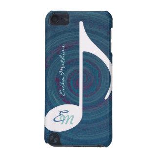 monogramme de pirouette de musique coque iPod touch 5G