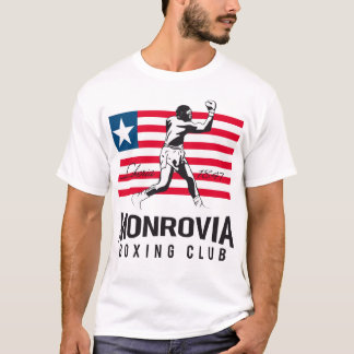 Monrovia-Verpacken-Verein T-Shirt
