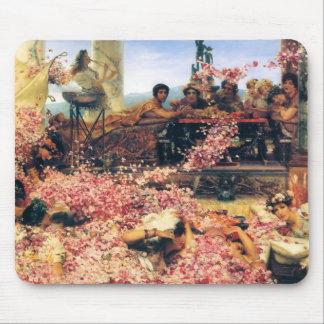 Monsieur Lawrence Alma-Tadema-Le Roses de Heliogab Tapis De Souris