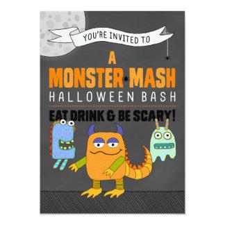 Monster-Brei-Halloween-Schlag-Einladungen 12,7 X 17,8 Cm Einladungskarte