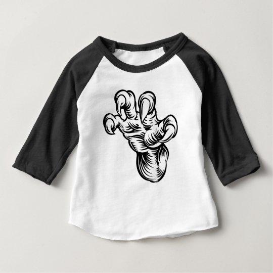 Monster-Greifertalons-Hand Baby T-shirt