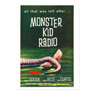 Monster-Kinderradio trifft die Postkarte