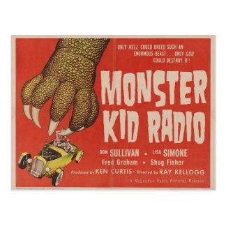 Monster-Kinderradio trifft die riesige Postkarte