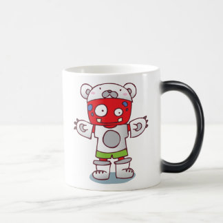 Monster-Kostüm-verwandelnde Tasse