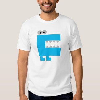 monstre bleu t-shirts