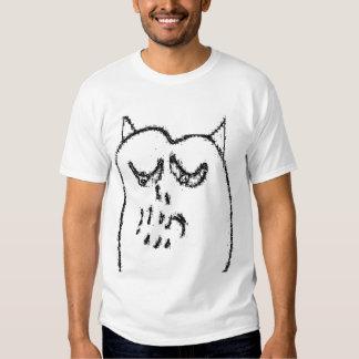 Monstre - chemise blanche t-shirts