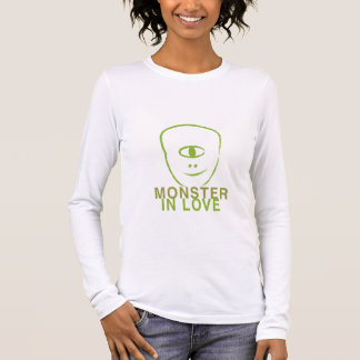 Monstre dans l'amour t-shirt à manches longues