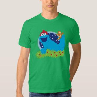 Monstre de biscuit de Père Noël T-shirts