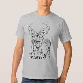 MONSTRE DE MASTIV T SHIRTS