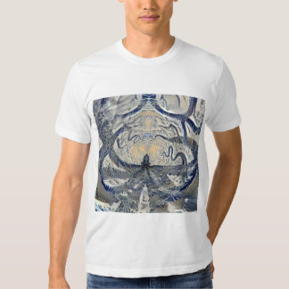 Monstre de mer Trippy Tee Shirts