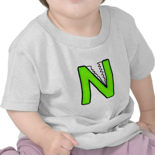 Monstre de N T-shirt