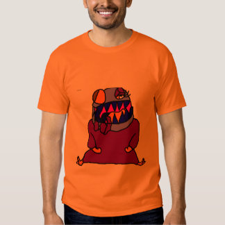 monstre laid tee-shirt