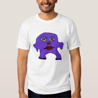 monstre pourpre t shirts