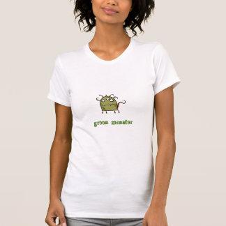 monstre vert t-shirts