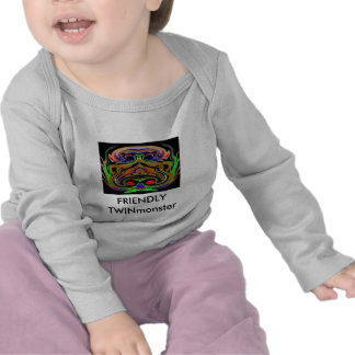 Monstres JUMEAUX de HALLOWEEN T-shirts