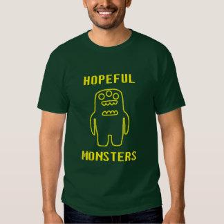 Monstres pleins d'espoir tee-shirts