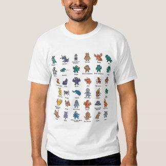 monstres t shirt