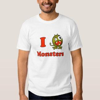 Monstres Tee Shirts