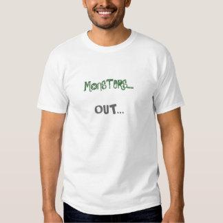 Monstres… ! tshirts