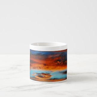 Monsun-Wolken-Wasser-Farbespresso-Tasse Espressotasse