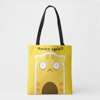 Montag-Katzen-Taschentasche Tasche
