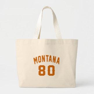 Montana 80 Geburtstags-Entwürfe Jumbo Stoffbeutel