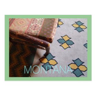 Montana- See McDonald-Häuschen Postkarten