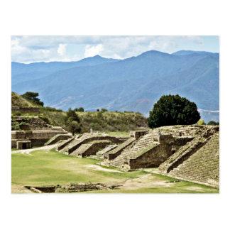 Monte Alban Komplex Postkarte
