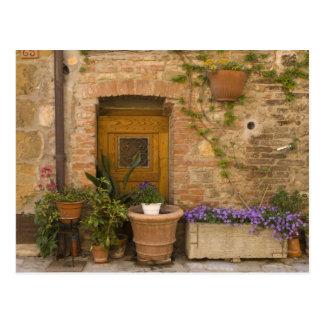 Montefollonico, Val d'Orcia, Siena-Provinz, 2 Postkarte