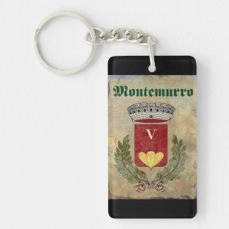Montemurro Schlüsselketten-Andenken Schlüsselanhänger