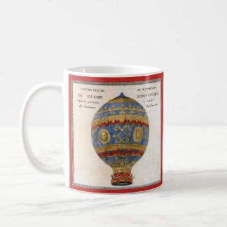 Montgolfier Bruder-Heißluft-Ballon Kaffeetasse