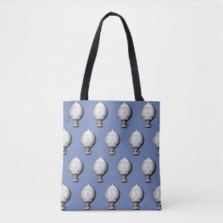 Montgolfier Vintages Heißluft-Ballon-Muster Tasche