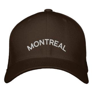 Montreal-Baseballmütze-gestickte Kanada-Kappe Bestickte Kappe