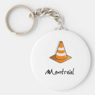 Montreal-Bau Schlüsselanhänger