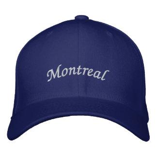 Montreal Bestickte Baseballkappe