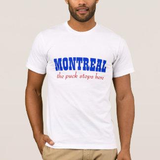 Montreal, der Kobold stoppt hier T-Shirt