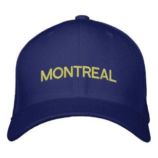 Montreal-Kappe Bestickte Baseballkappe