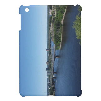 Montreal-Stadt-Fluss-Brücke iPad Minifall iPad Mini Hülle