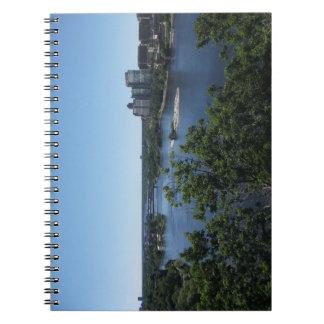 Montreal-Stadt, Kanada-Notizbuch Notizblock