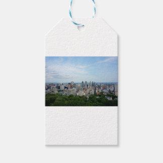 Montreal-Stadt-Skyline Geschenkanhänger