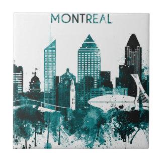 Montreal-Stadt-Skyline Keramikfliese