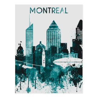 Montreal-Stadt-Skyline Postkarte